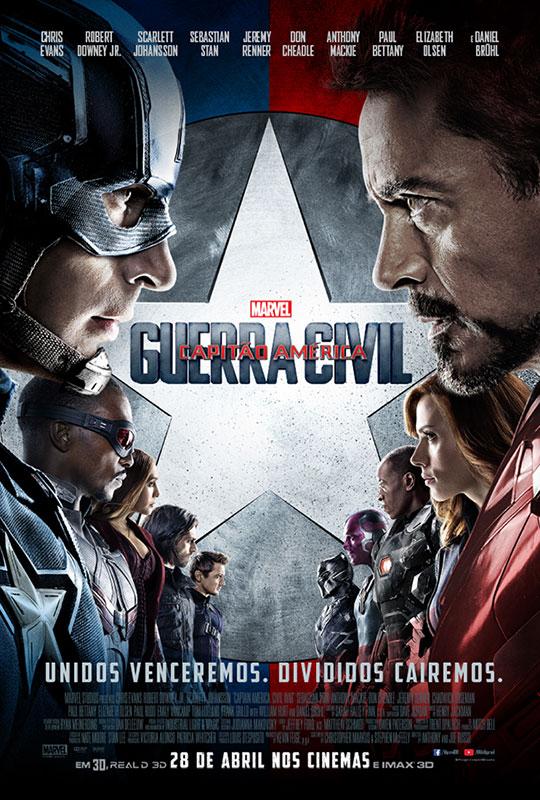 Capitão América - Guerra Civil (filme longo)